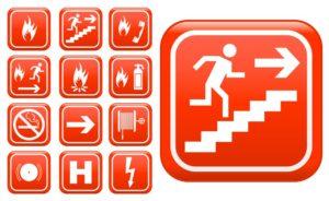 Требования к знакам пожарной безопасности: правила и нормы расположения и установки, места размещения