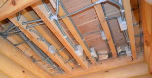 Пожаробезопасная проводка в деревянном доме