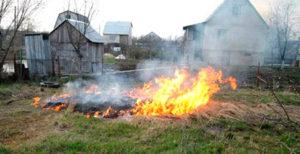 Пожарная безопасность садового участка