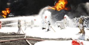 Загрязнение окружающей среды при тушении пожаров пенами
