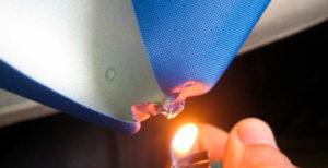 Огнезащитная обработка ткани: пропитки и составы