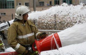 Пожарная пена. Пенообразователь. Кратность пожарной пены